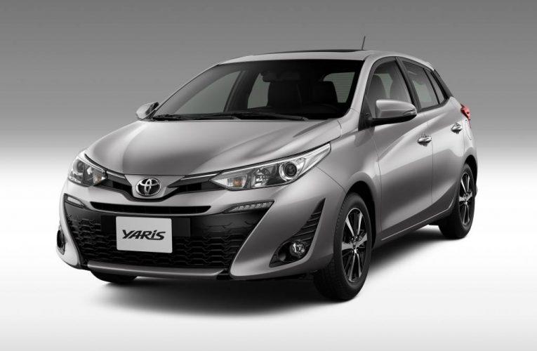 O novo ToyotaYaris projetado na Europa, mostra seu estilo no Japão.