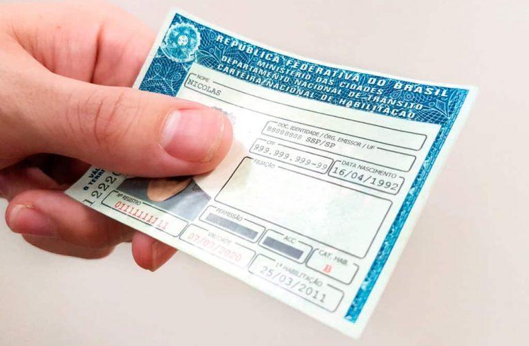 CNH gratuitamente pode ser autorizada em todos os estados do país