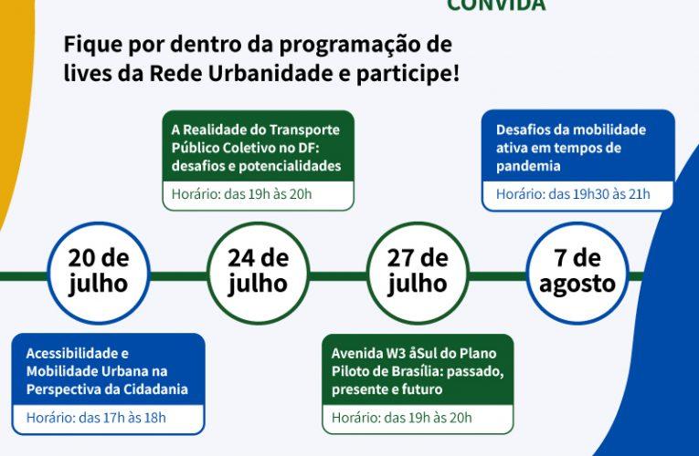 Rede Urbanidade: webinar discute mobilidade urbana sustentável e transporte coletivo
